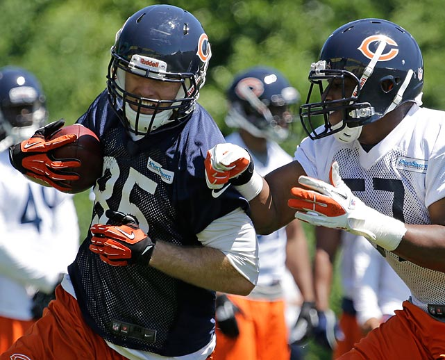 Reserve tight end Gabe Miller has yet to appear in a game for the Bears, and didn't help his odds by getting suspended for the first four games of the upcoming season. He violated the league's substance abuse policy.