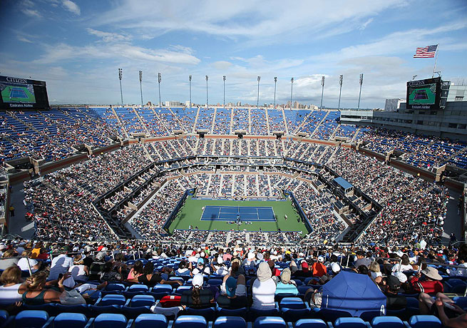 Arthur Ashe Stadium is the crown jewel of the Billie Jean National Tennis Center.