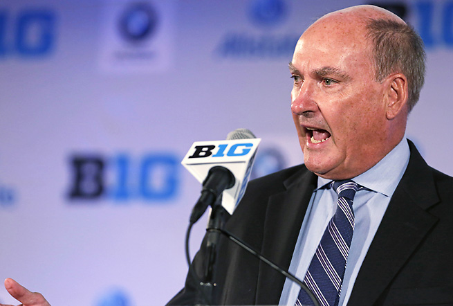 Big Ten commissioner Jim Delany has been one of the aggressive conference heads during realignment.