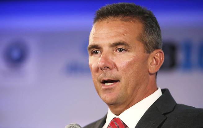 Player discipline was the most prominent subject during Urban Meyer's Big Ten media days presser.