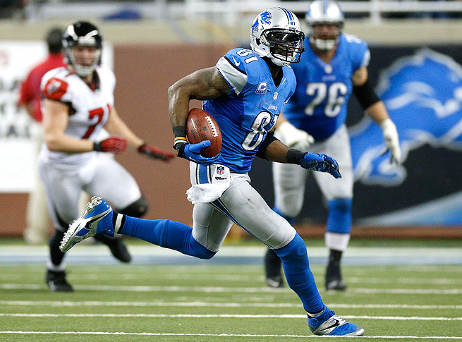Calvin Johnson, the top wide receiver in fantasy, had 122 receptions for 1,964 yards last season.