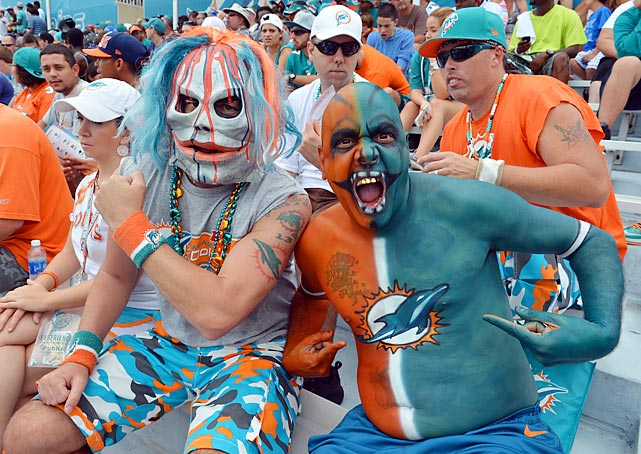 Miami has its share of fanatics at camp this year.