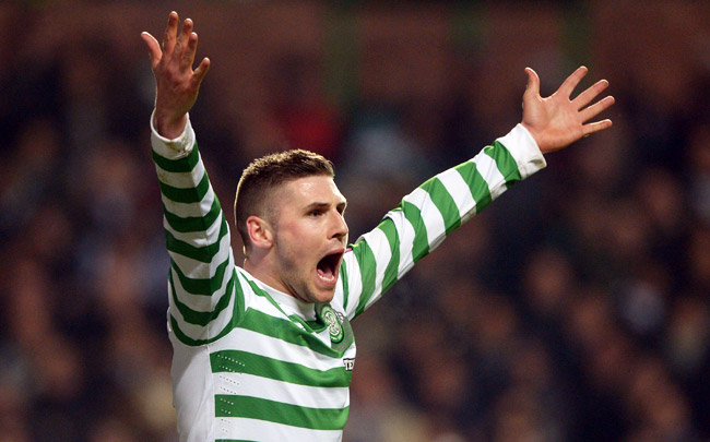 Gary Hooper scored 82 goals in 149 appearances for Celtic from 2010-13.