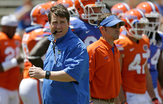 Will Muschamp has led Florida to an 18-8 record since taking over for Urban Meyer two seasons ago.