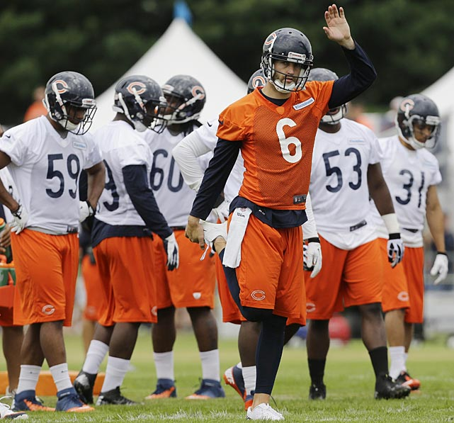 The Bears and quarterback Jay Cutler get to play for a new coach this season, Marc Trestman.