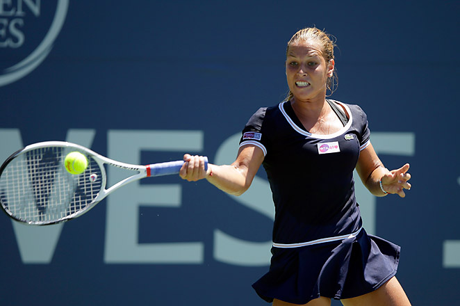 Dominika Cibulkova will now face fifth-seeded Sorana Cirstea, a 6-3, 6-3 winner over Olga Govortsova.