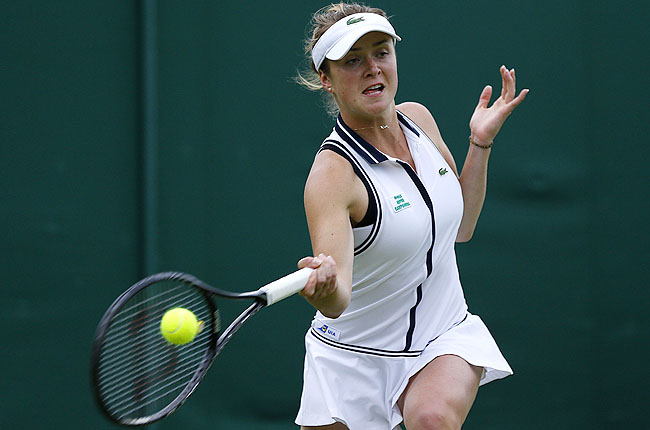 Ukrainian teenager Elina Svitolina defeated fourth-seeded Alexandra Cadantu of Romania 6-1, 6-4.