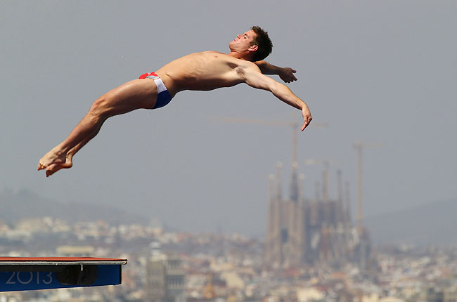 Boudia opening dive Saturday pool received one perfect 10 and nothing lower than a 9.0.s.