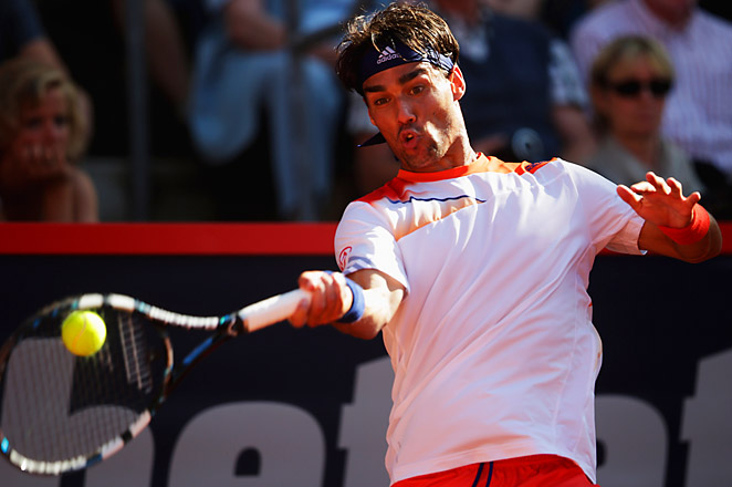 Third-seeded Fognini beat Gael Monfils and will now face either Andreas Seppi or Tommy Robredo.
