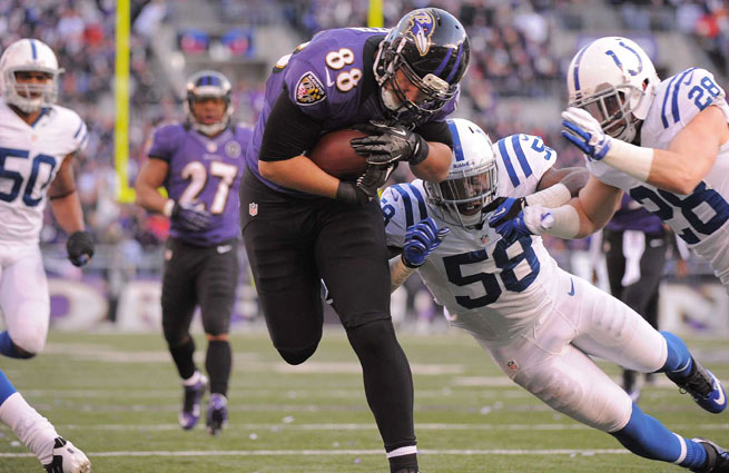 After dealing Anquan Boldin, the Ravens planned to rely heavily on Dennis Pitta, who will now likely miss 2013.