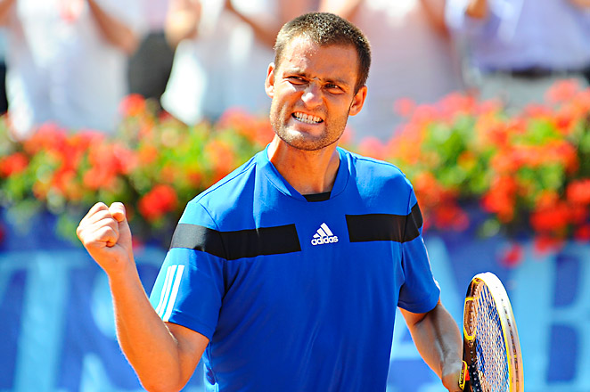 Mikhail Youzhny had never previously reached the final in Switzerland in his seven visits since 2002.