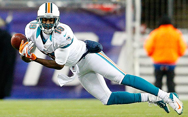 Third-year wide receiver Armon Binns tore his ACL and MCL, forcing him to miss all of the Miami Dolphins' 2013 campaign. The Dolphins' likely No. 4 wide receiver caught 24 passes for 277 yards last season, split between the Cincinnati Bengals and Miami.