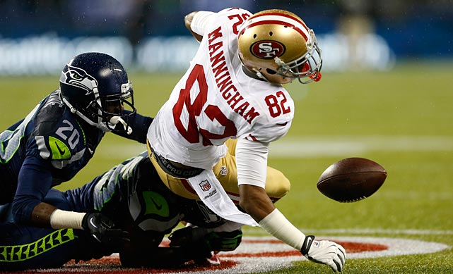 With Michael Crabtree out for most of the regular season, fellow wide receiver Mario Manningham's health has become critically important to the San Francisco 49ers. Manningham tore his ACL and MCL in Week 15 last season and is reportedly about a month away from returning to on-field activities. In his first season with the 49ers last year, Manningham caught 42 passes for 449 yards and a touchdown.