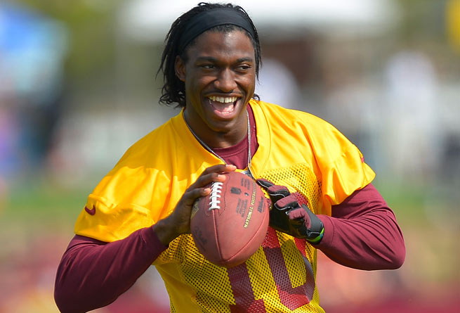 Robert Griffin III will likely begin doing 11-on-11 drills in main practices next week.