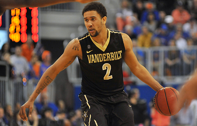 Kedren Johnson led Vanderbilt in scoring and assists last season, but has been suspended for 2013-14.