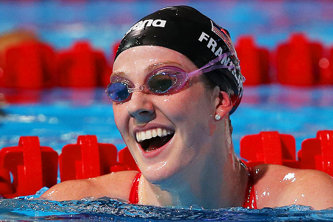 Missy Franklin has kept up the momentum from her run at the London Olympics this week in Barcelona.