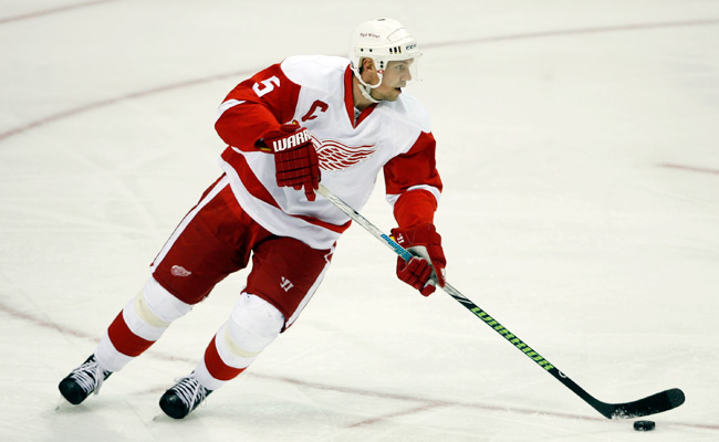 Nicklas Lidstrom won the Stanley Cup four times with the Red Wings.