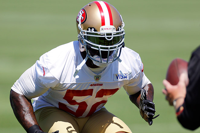 Willis injured his hand was one of over a dozen 49ers players to sit out Thursday's practice.