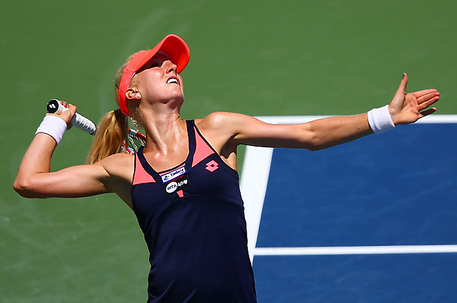 Radwanska, ranked No. 39, has five top-20 wins this season after defeating 16th-ranked Jankovic.