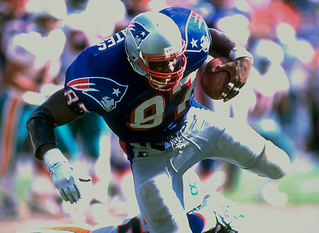 In nine seasons with the Patriots and one with the Colts, Coates caught 499 passes for 5,555 yards and 50 touchdowns. He was a five-time Pro Bowl pick and a two-time, first-team All-Pro selection. He never has been a Hall of Fame finalist. Also worthy of consideration: Wesley Walls, Keith Jackson, Todd Christensen, Jimmie Giles and Russ Francis.