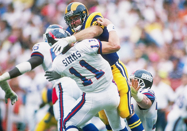 In 15 seasons with the Rams, Steelers, Panthers and 49ers, Greene had 160 sacks (third highest of all time) and recovered 26 fumbles. Currently an assistant coach with the Packers, Greene was a five-time Pro Bowl pick and a two-time, first-team All-Pro selection. He was a Hall of Fame finalist in 2012 and 2013. Others worthy of consideration: Chuck Howley, Pat Swilling, Clay Matthews and Matt Blair.