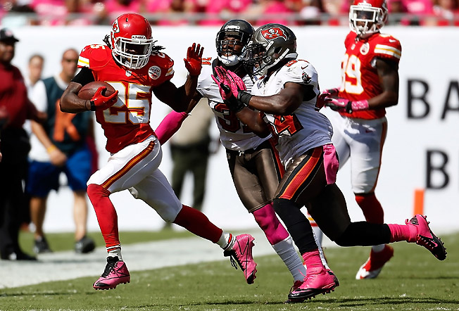 Jamaal Charles is established, but if he emerges as the top player in fantasy, he'll qualify as a breakout.