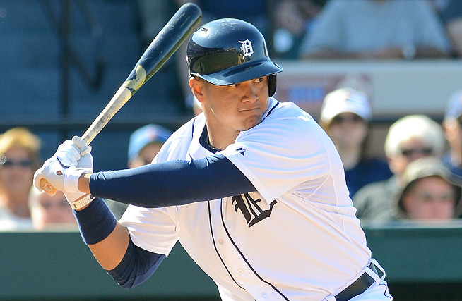 Avisail Garcia has amassed an impressive .376 average, six homers and 27 RBI in 40 minor league games.