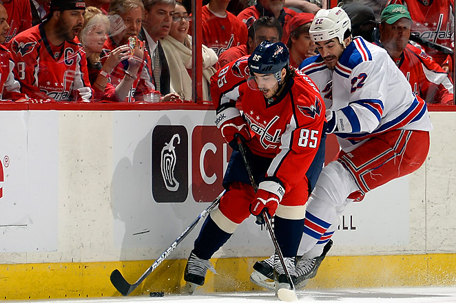 The Capitals and Rangers will now both be a part of the new eight-team Metropolitan division.