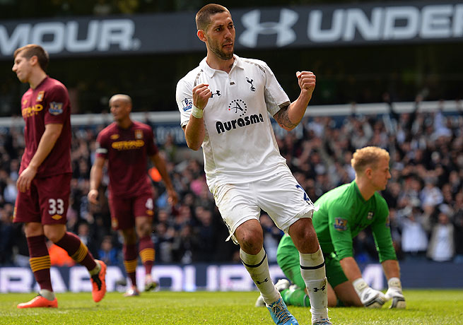 Despite solid play for Tottenham, Clint Dempsey may have felt he was being forced out of the side.