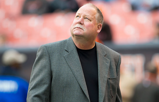 Mike Holmgren served as the Browns president from 2010-12 after 17 years as a coach.
