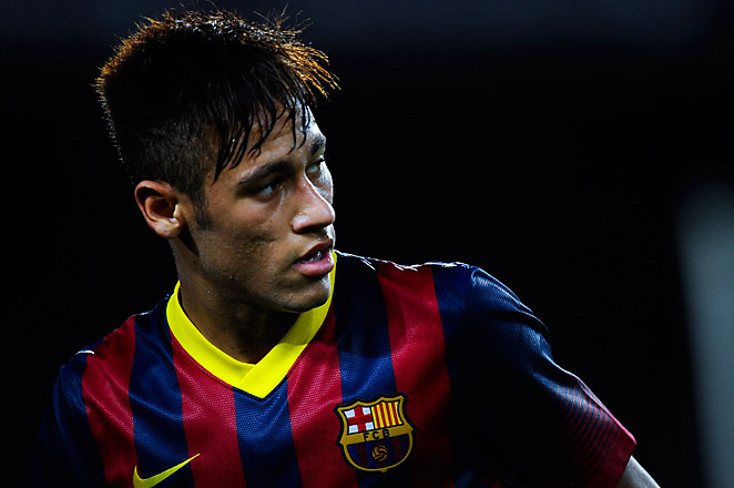 Neymar, the 21-year-old Brazilian striker, came to FC Barcelona from Santos during the offseason.