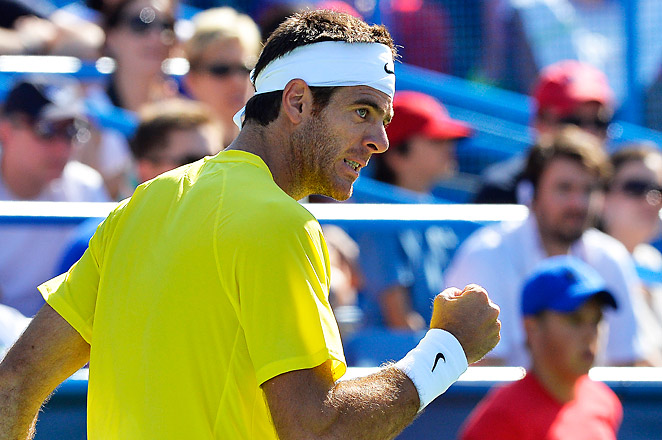 This is Juan Martin del Potro's 2nd trophy of the season, after a win at Rotterdam in February.