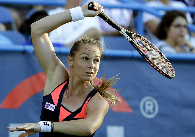 With her final victory Magdalena Rybarikova has now won 10 straight matches at the Citi Open.