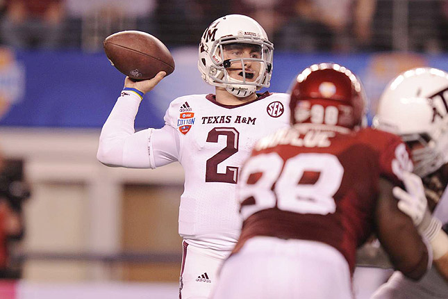 Will Texas A&M quarterback Johnny Manziel be the No. 1 pick? The networks hope you tune in to find out.