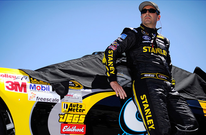 Driver Marcos Ambrose is currently 22nd in the point standings, but could secure a wild card berth.