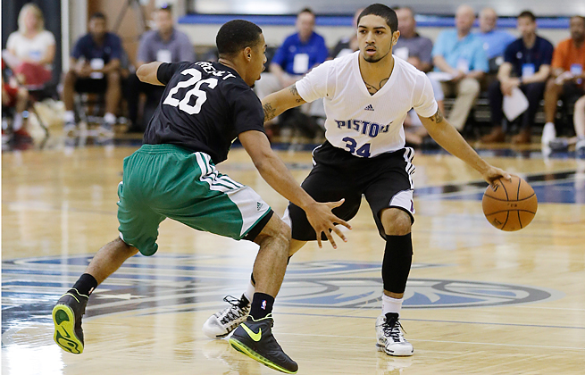 Peyton Siva reached a contract agreement with the Pistons after the team drafted him 56th overall.