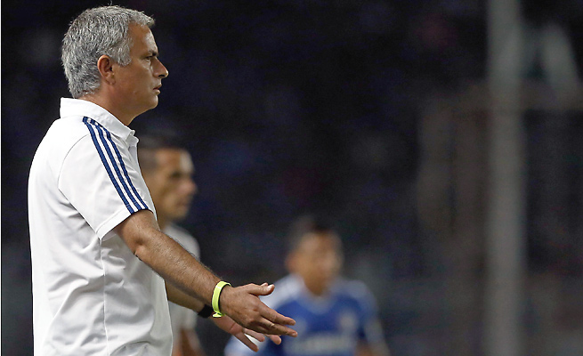 Manager Jose Mourinho left Real Madrid after last season to return to Chelsea.