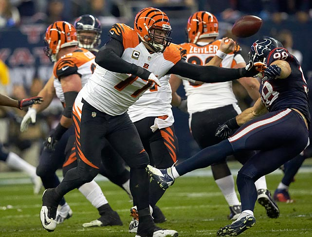 Andrew Whitworth has missed just eight possible starts since the Bengals selected him in the 2006 draft, and 2012 may have been his best season. He allowed just three sacks, and a total of three hits and hurries in 992 total snaps, protecting a young quarterback in Andy Dalton who is still learning to deal with pressure.