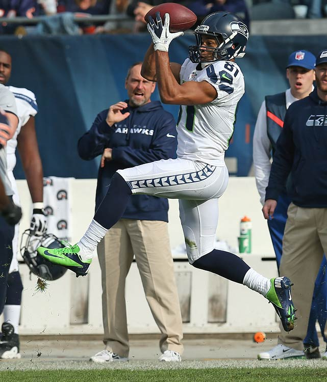 The Seahawks have been waiting for Golden Tate to break out since they selected him in the second round of the 2010 draft out of Notre Dame. He started to come on late last season -- he was one of the league's best speed slot targets in 2012 -- and in training camp this year, he's looked truly special.
