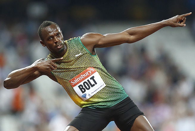 Usain Bolt is focused on winning three gold medals at the upcoming world championships.