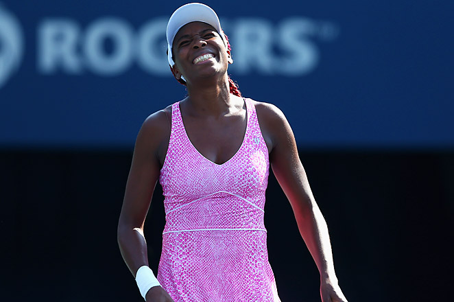 This was Williams' first match in more than two months after missing Wimbledon due to injury.