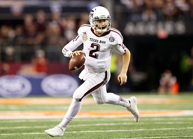 Johnny Manziel's jersey would likely go for a high price, but NCAA rules prohibit him from selling it.