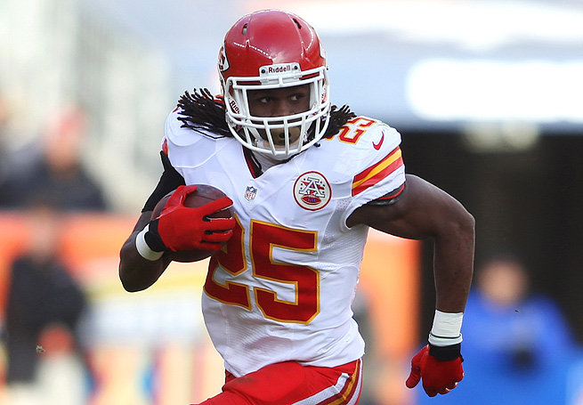 Jamaal Charles will likely see the ball more often under Andy Reid, but he does have some drawbacks.