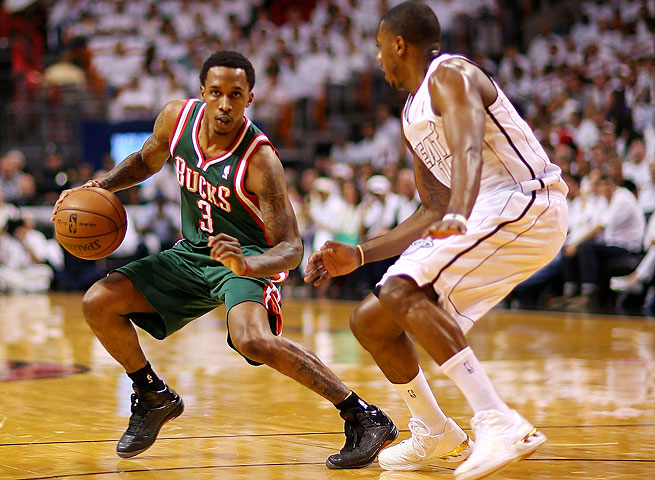 Point guard Brandon Jennings shot only 39.4 percent from the field in four seasons with the Bucks.