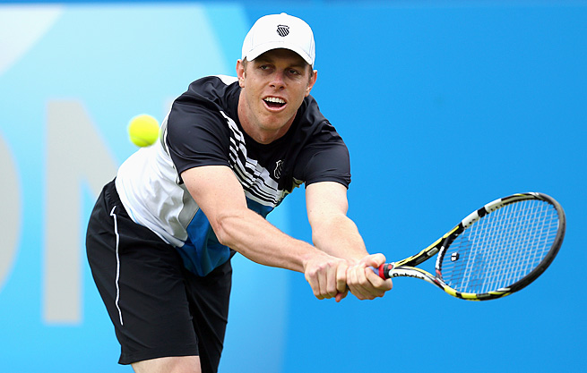 No. 26 Sam Querrey (pictured) and John Isner are the only American men ranked in the top 75.