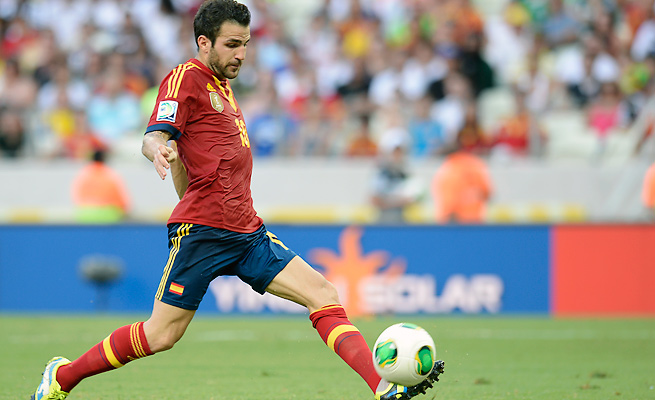 Barcelona midfielder Cesc Fabregas has been linked to a possible transfer to Manchester United.