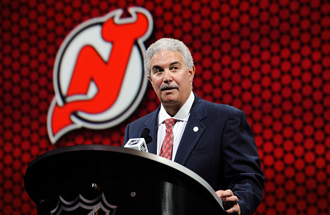 Owning the New Jersey Devils has lightened Jeff Vanderbeek's wallet considerably.