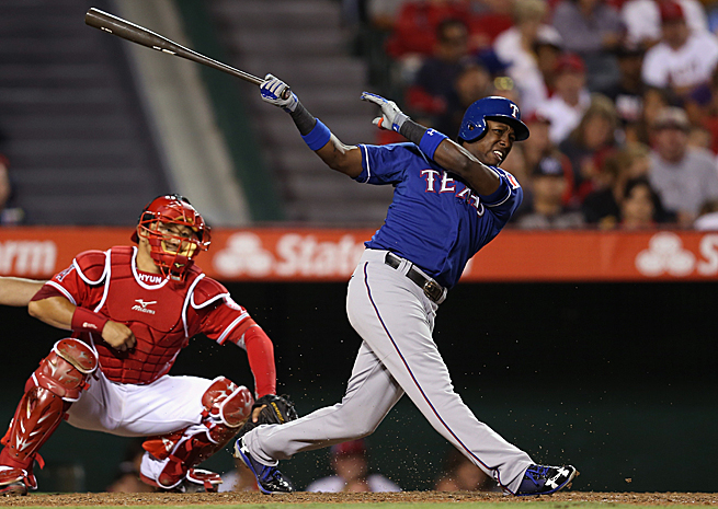 Jurickson Profar will have more playing time for the rest of the season in Nelson Cruz's absence.