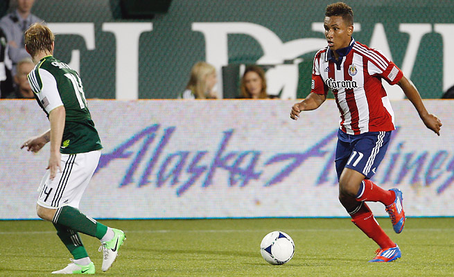 Forward Juan Agudelo will join three other Americans on already on Stoke's roster.