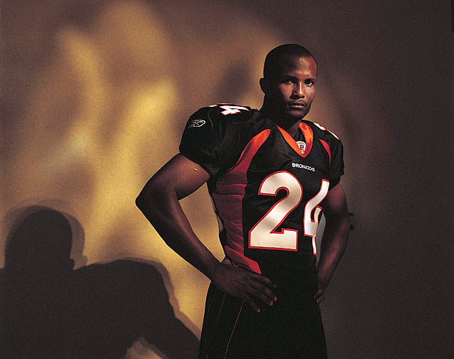 Champ Bailey was already a league-renown cornerback by the time he was 25 and had made the Pro Bowl every season of his career except for his rookie campaign. When Bailey's rookie contract expired, he threatened to boycott training camp if the Washington Redskins used the franchise tag on him, causing the Redskins to explore trading him. The Redskins and Bailey found a satisfactory trade, moving him and a second-round pick to the Denver Broncos in exchange for Clinton Portis. Bailey signed a seven-year, $63-million contract with the Broncos and made the Pro Bowl during each of those seven seasons plus two more. Although hampered by injuries, Portis posted huge numbers for the Redskins including four seasons with more than 1,500 yards from scrimmage.